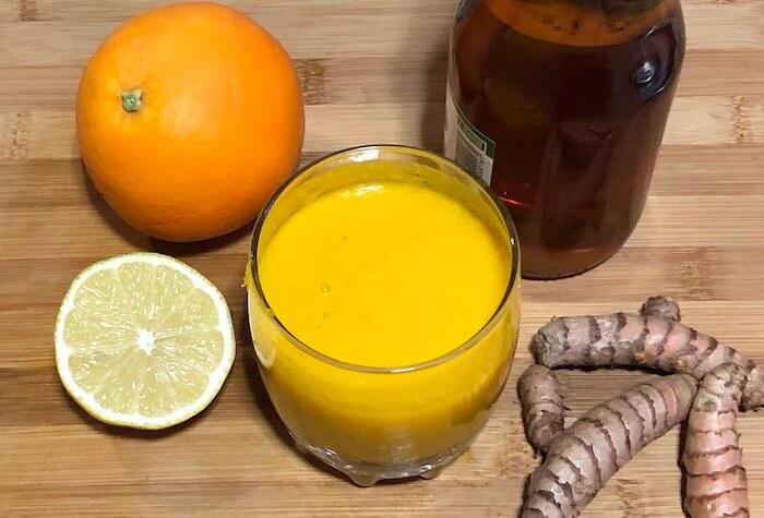 laranja limão açafrão da terra vinagre