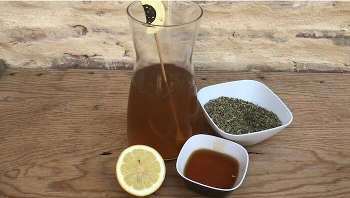 infusao de oregano +limao +mel